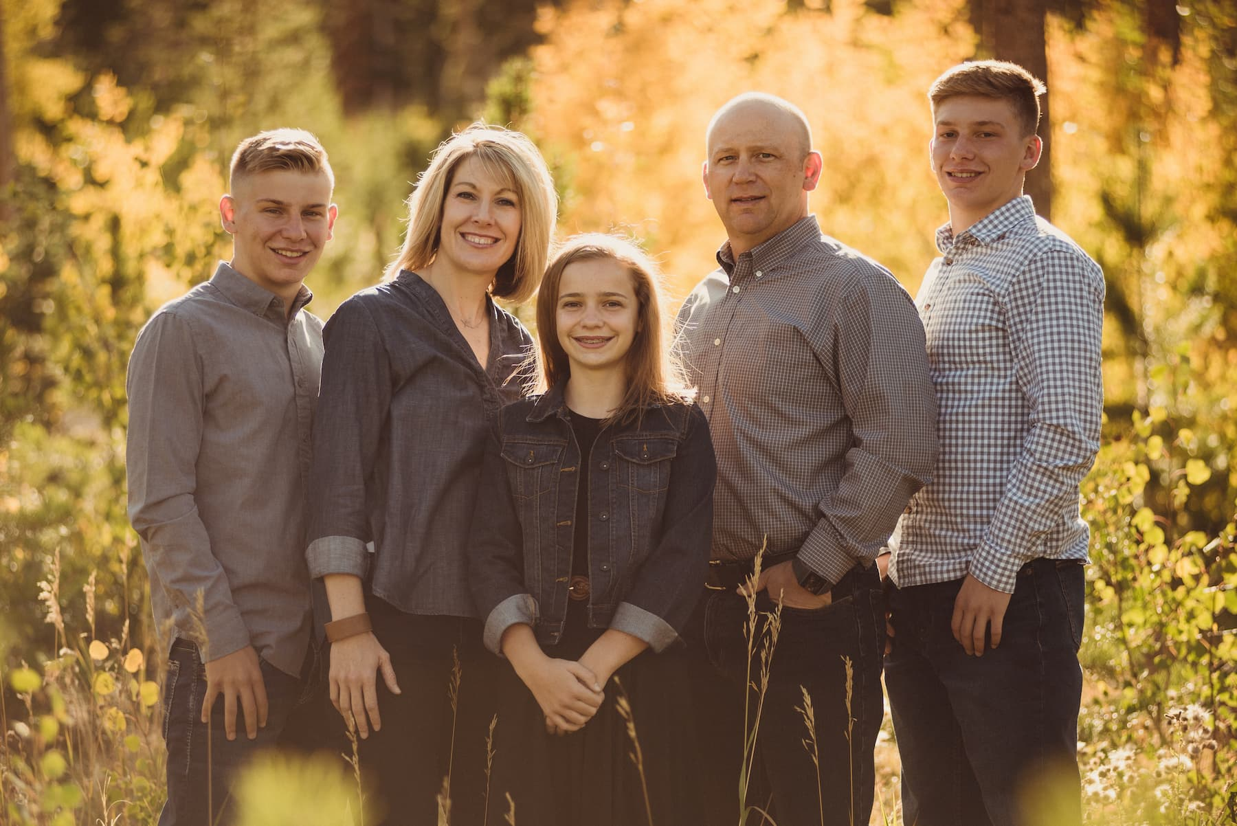 Jeremy Sell and family
