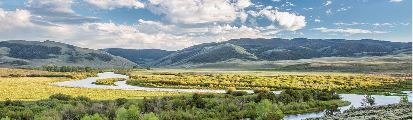 North Platte River in Colorado