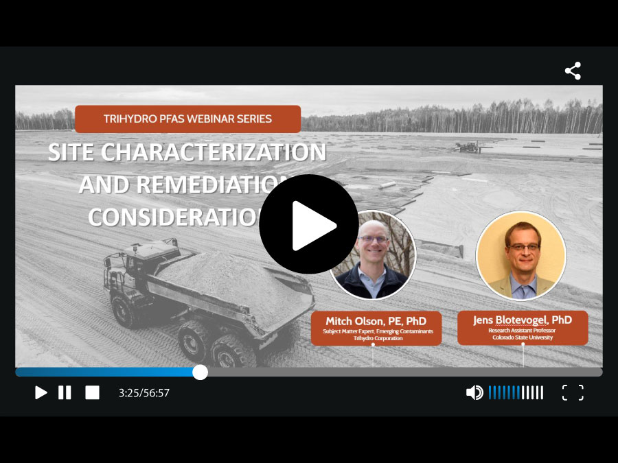 PFAS Site Characterization and Remediation Recording