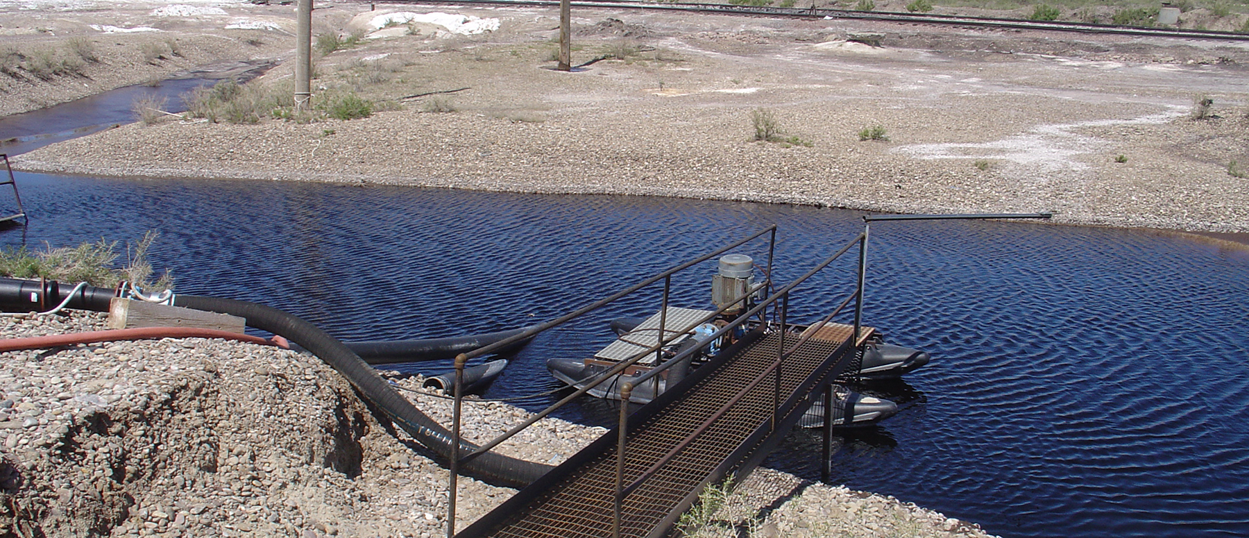Evaporation Pond Groundwater Control_Hero